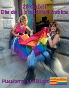 Manifest Dia de la Visibilitat Lèsbica: 26 d'abril